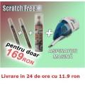 Scratch Free - Marker impotriva zgarieturilor + Aspirator de masina cadou