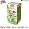 Moringa - Extract - 500 mg, 60 cps, Tratament american