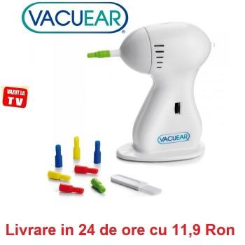 Vacu Ear - dispozitiv de curatat cavitatea urechii