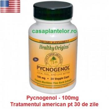 Pycnogenol - Concentratie 100mg - tratament american pt 30 de zile