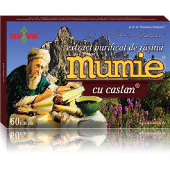 Mumie - Extract Purificat de Rasina cu Castan