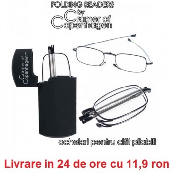 Ochelari pentru citit pliabili - Folding Readers de la Cramer of Copenhagen