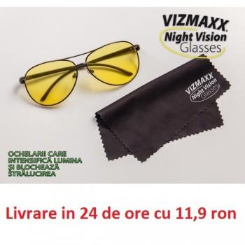 Vizmaxx Night Vision - Ochelarii care intensifica lumina si blocheaza stralucirea