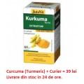 Capsule cu extract de Curcuma (Turmeric sau Sofran indian) - 60cps