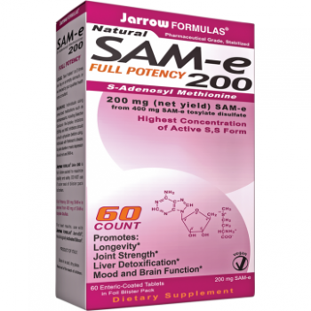 SAM-e 200mg 60tb Jarrow