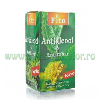 Fito Antialcool si Antitabac Forte - Tratament pentru alcoolism