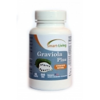 GRAVIOLA PLUS - 60cps - Tratament, Medicament Citostatic natural - SUA