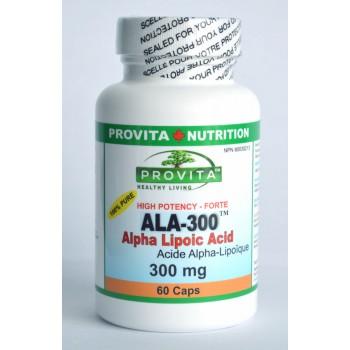 ACID ALFA LIPOIC Forte (ALA-300) 300 mg/60 capsule