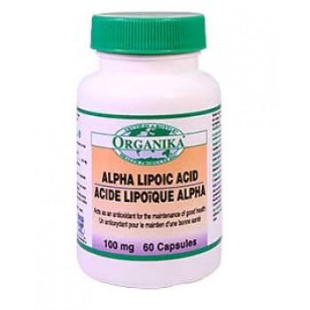 Acid ALFA Lipoic100 mg/60 cps