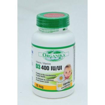 Vitamina D-3 Forte: 400 UI/90 capsule